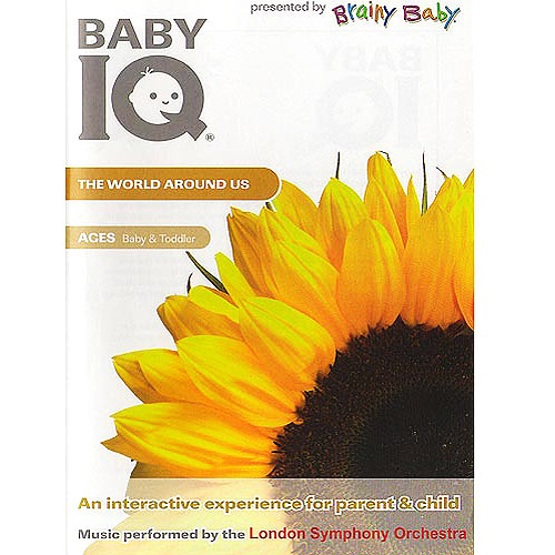 Brainy Baby Baby IQ: The World Around Us by BAYVIEW ENTERTAINMENT