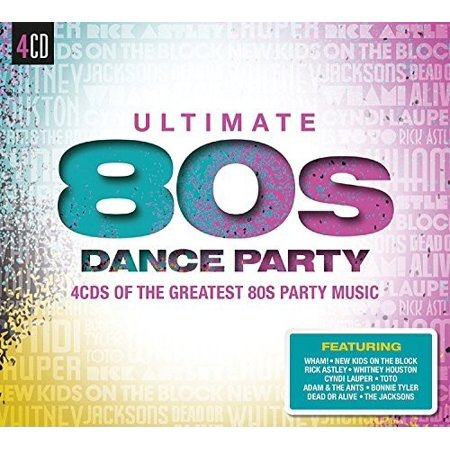 Ultimate 80s Dance Party / Various (CD) - 80s Halloween Party Music