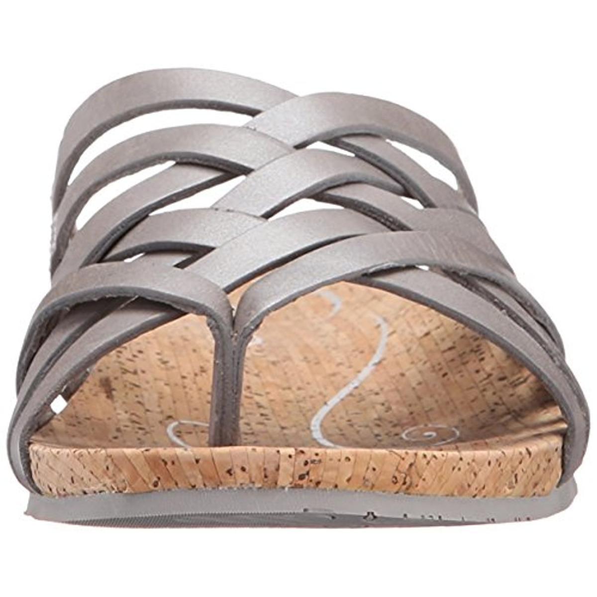 7ae91fee61e Ahnu - Ahnu Womens Maia Leather Crossover Thong Sandals - Walmart.com