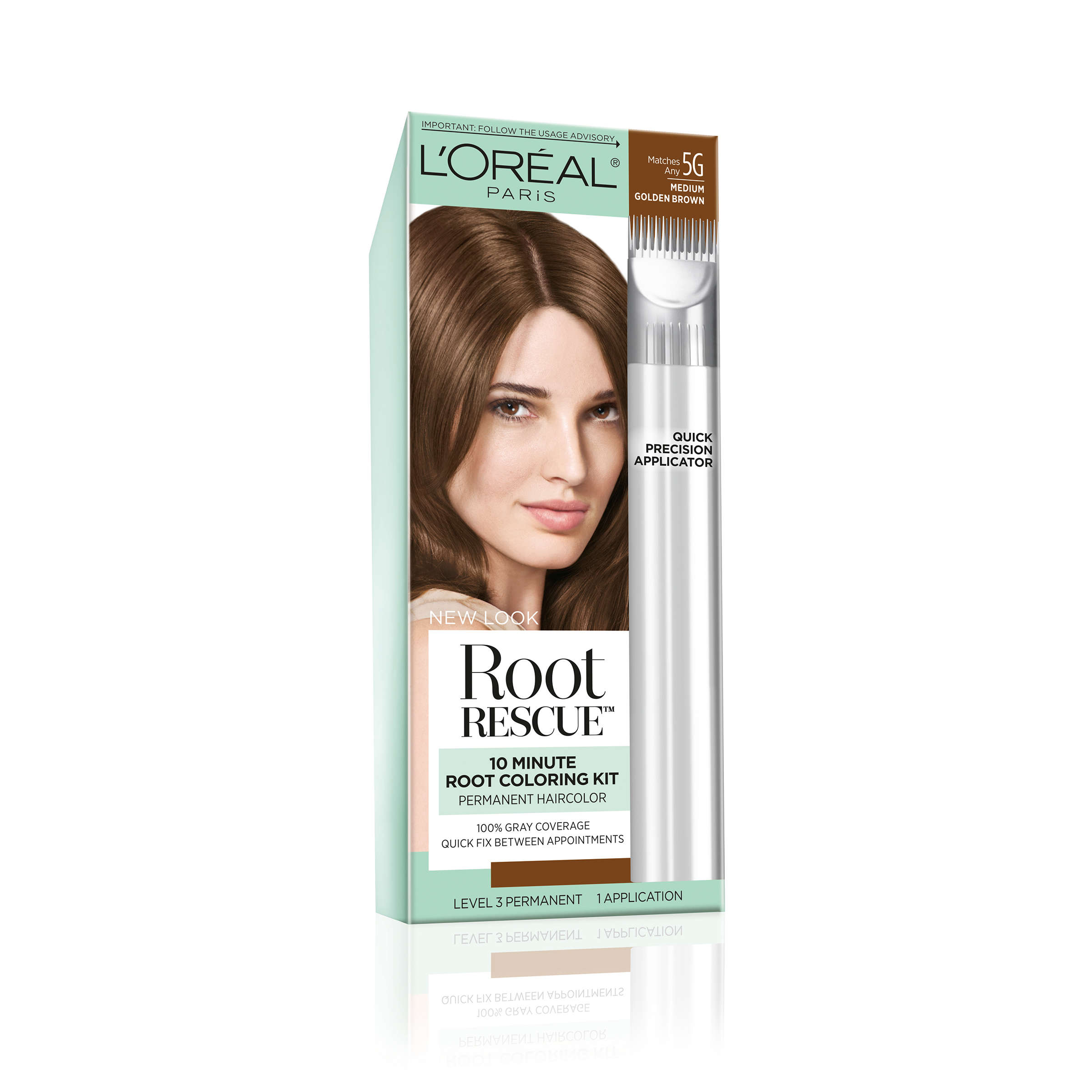 Loreal Paris Root Rescue Root Coloring Kit Walmart