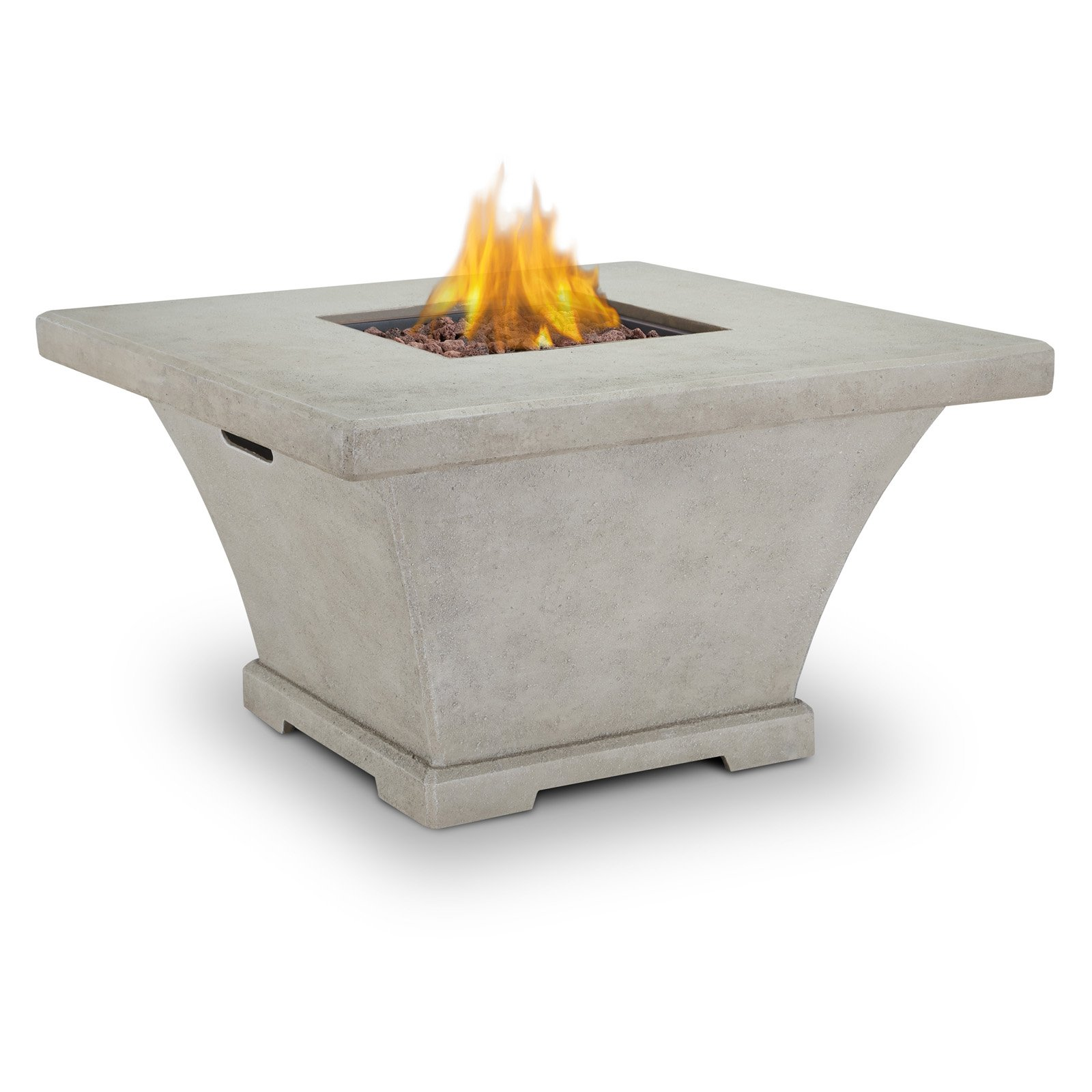 Real Flame Monaco Square LP Fire Table