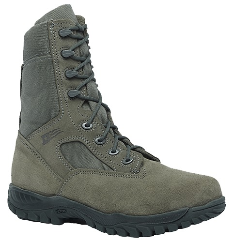 """Belleville 612ST Men 8"""" Hot Weather Tactical Steel Toe Toe Steel Boot US Made EH Rated 00967b"""