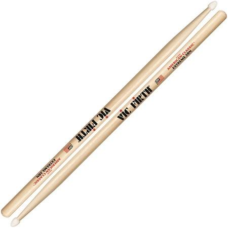 Vic Firth X5BN American Classic 5B Extreme Nylon Tip Drumsticks