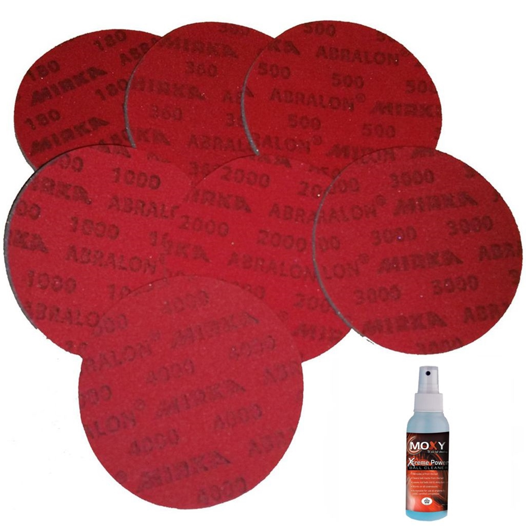 Bowlerstore Abralon Sanding Pads- Set of all 7 Grits