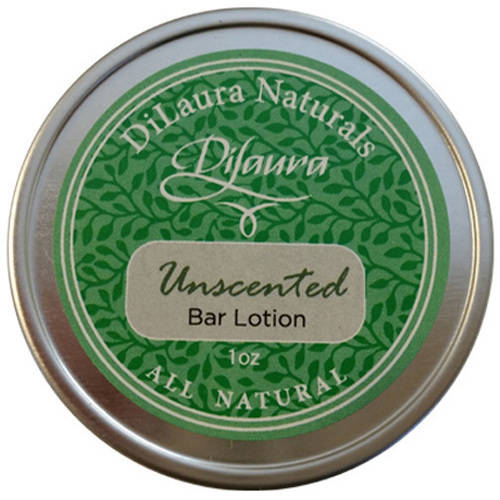Dilaura Naturals Unscented Bar Lotion, 1 oz