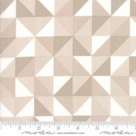 Clearance Sale~Spectrum~Geometric Ombre HST~Sand Cotton Fabric.by Moda