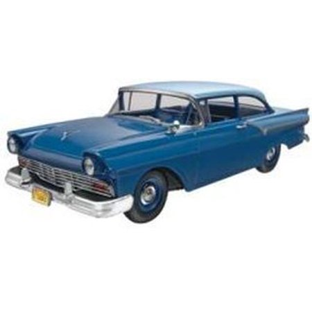 1957 Ford Custom 1/25 Scale Glue And Paint Model Car Kit