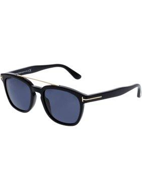 d0283ec2177 Product Image Tom Ford Men s Holt FT0516-01A-54 Black Rectangle Sunglasses