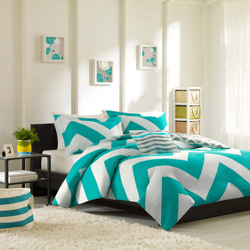 Home Essence Apartment Leo Bedding Duvet Cover Set, Blue