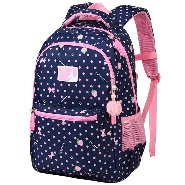 Casual School Backpack Animals Pattern Print Laptop Rucksack Multi-Functional Daypack Book Satchel