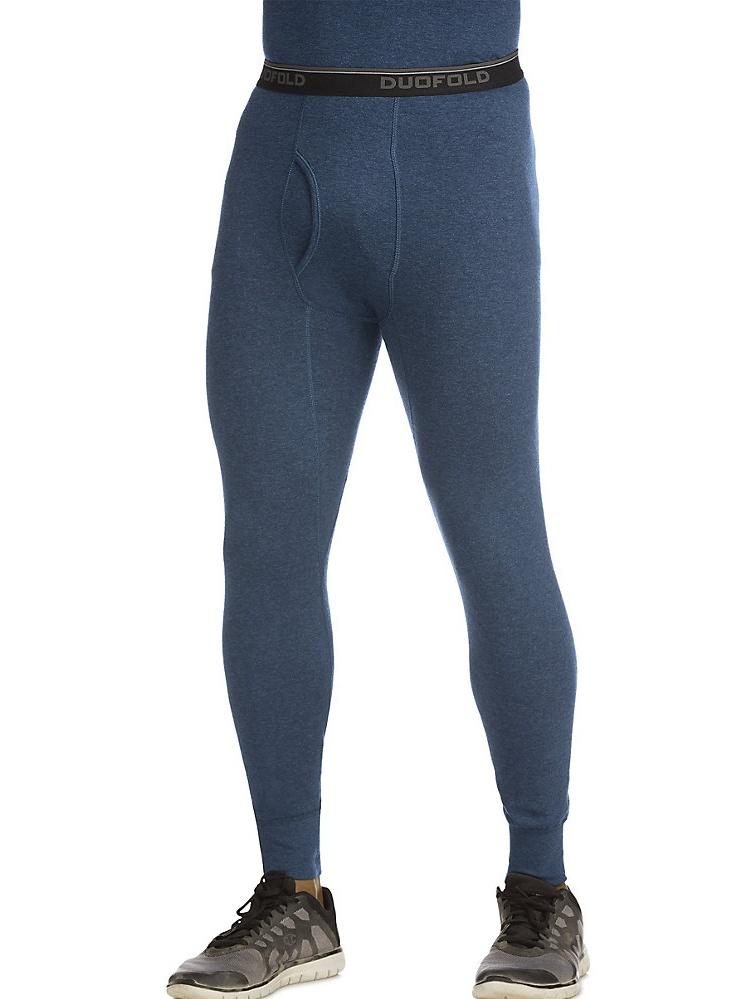 Duofold by Champion Originals Wool-Blend Men/'s Thermal Shirt-Blue//Green S-2XL
