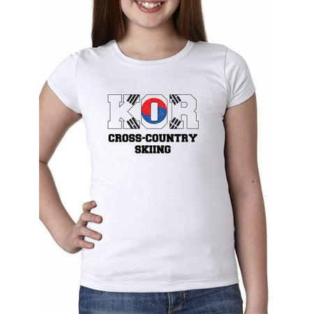 South Korean Cross-Country Skiing - Winter Olympic - KOR Girl