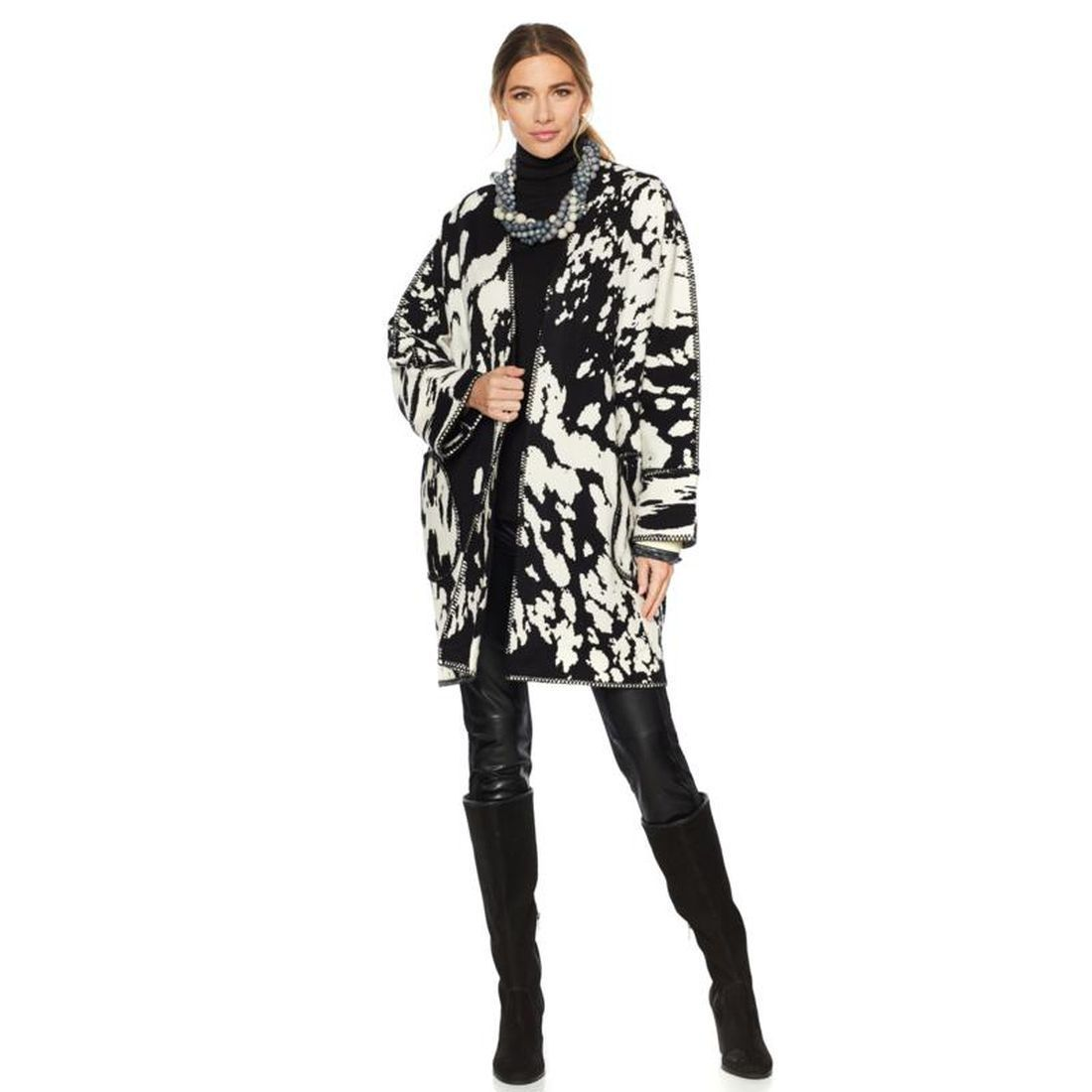 Rara Avis Iris Apfel Animal Pattern Coat 560-205