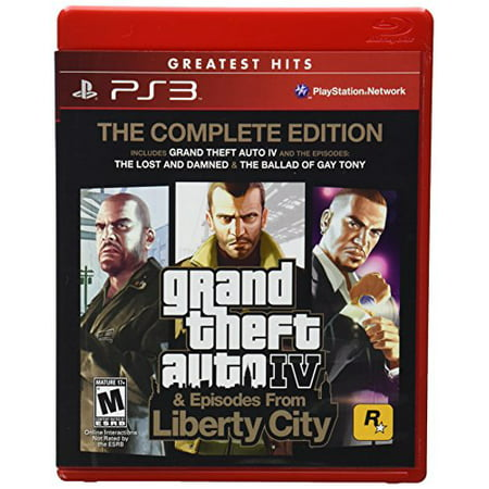 Grand Theft Auto IV & Episodes from Liberty City: The Complete