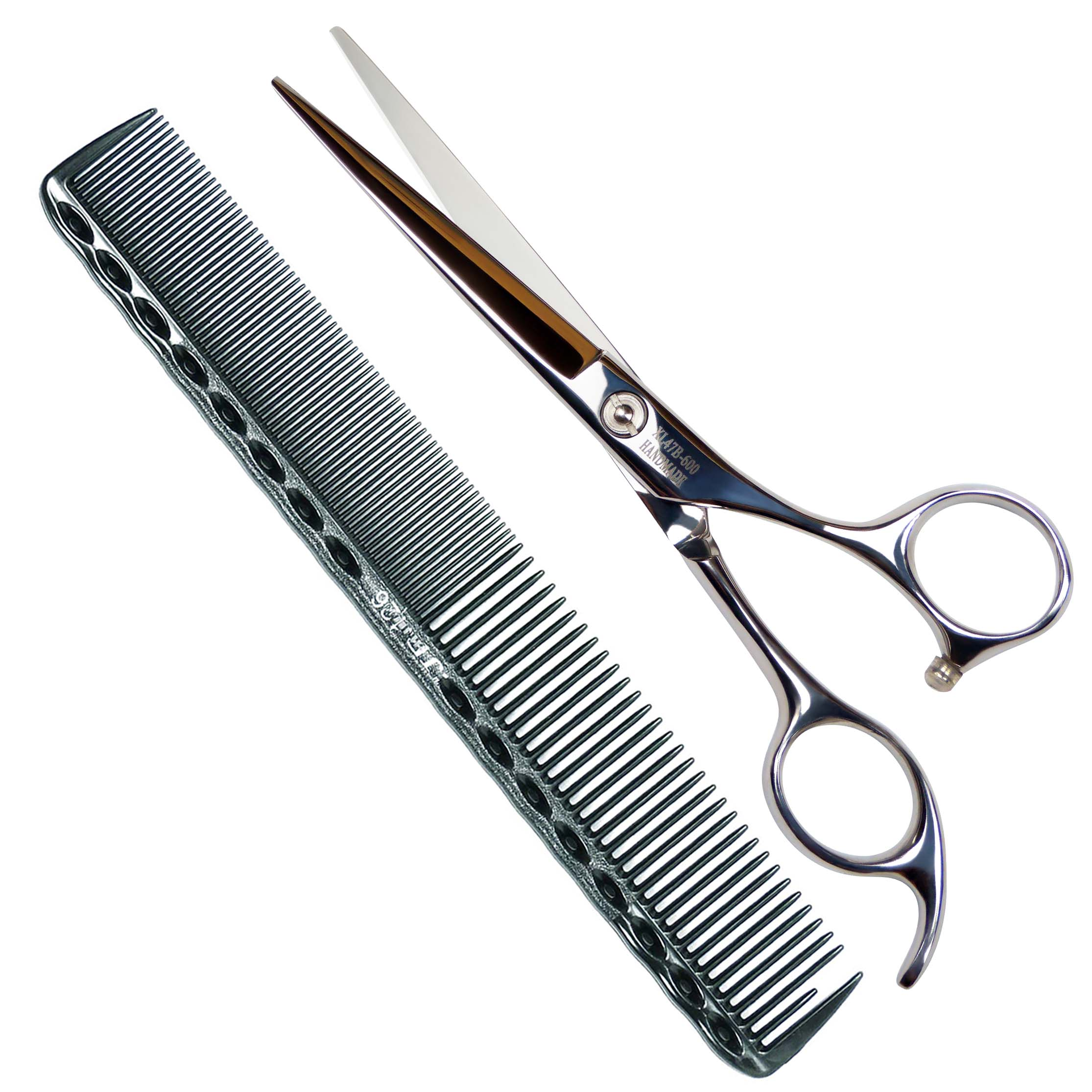 Professional Barber Hair Cutting Shears / Scissors, 6 Inch ...