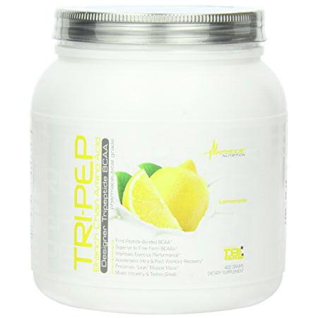 Acid Nutritional Supplement - Metabolic Nutrition Tri-PEP Nutritional Supplement, Lemonade, 400 Gram