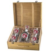 Washington State Cougars Capitol Decanter Box Set by Heritage Metalworks