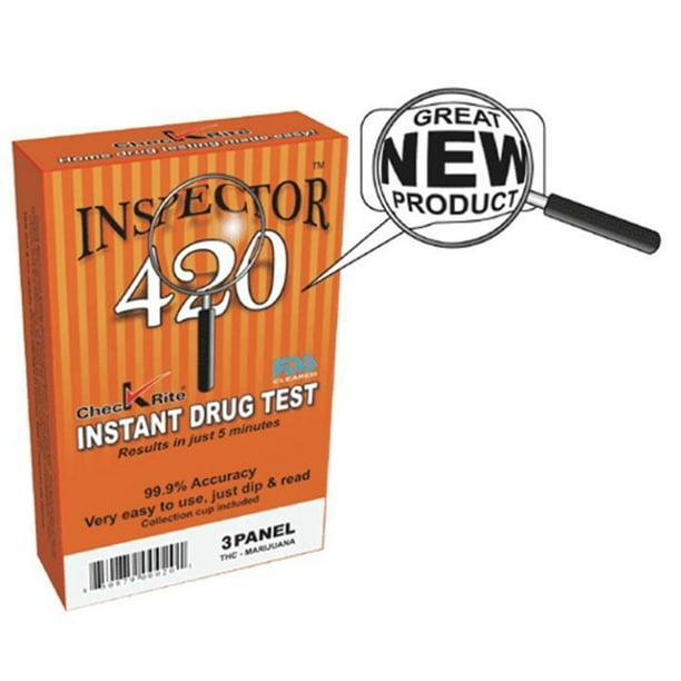 M M 14 040 Inspector 420 Three Panel Drug Test Walmart Com Walmart Com
