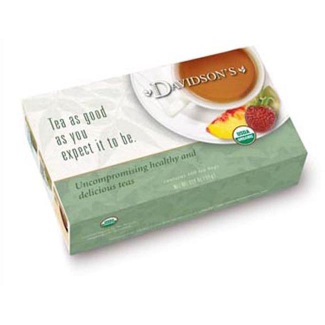 Davidson Organic Tea 189 Green Tea Garden Tea, Box of 100 Tea Bags