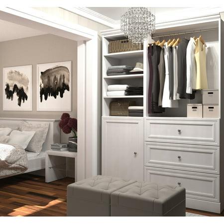 Versatile by Bestar 61'' Storage kit in White (Versatile Shelving)