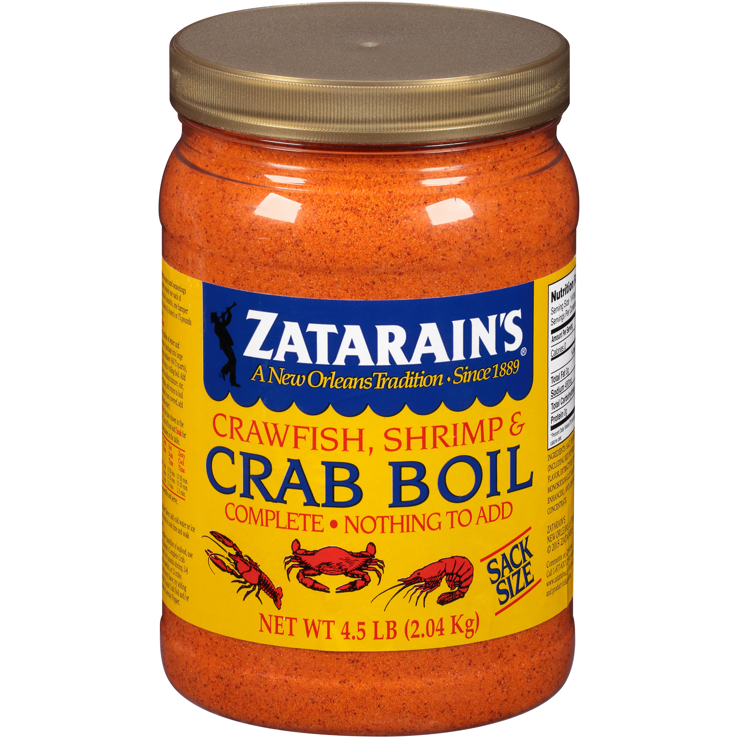 Zatarains Crawfish Shrimp Crab Boil