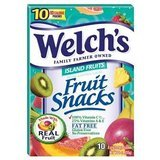Welch's, Fruit Snacks, Island Fruits (Pack of 4)