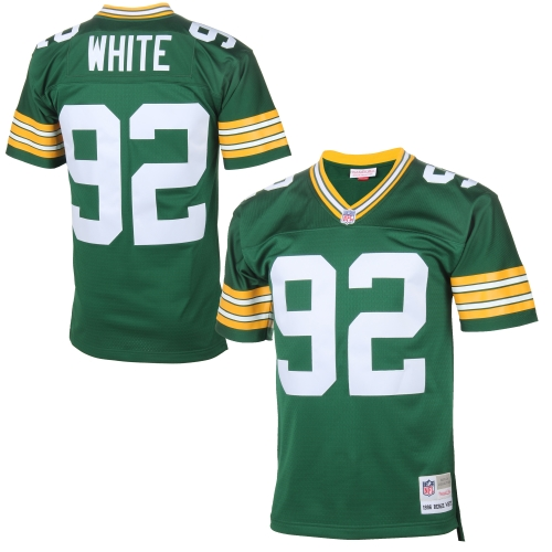 Reggie White Green Bay Packers Mitchell & Ness Retired Player Vintage Replica Jersey - Green