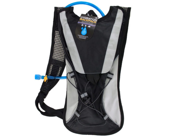 2 Liter Hydration Backpack with Flexible Drinking Tube (Available in a pack of 2) by Bulk Buys