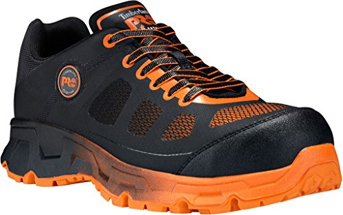 Timberland PRO Men's Velocity XL Low SD Plus Alloy Toe Work Shoe,Black Synthetic by The Timberland Company