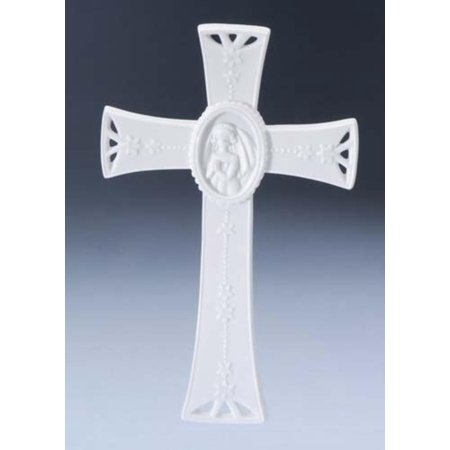 Set Of 6 Guardian Angel Collection First Communion Girl Wall Crosses