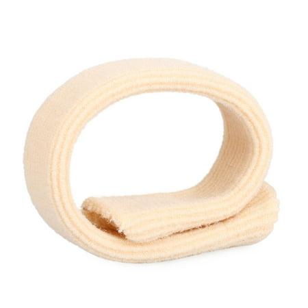 Fabric Gel Tube Toe Protector Toe & Finger Protective Tube Feet Finger Protection Cushion Feet Care Pads for Corns