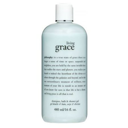 Philosophy Living Grace Shampoo, Bath & Shower Gel, 16 Fl