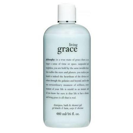 Philosophy Living Grace Shampoo, Bath & Shower Gel, 16 Fl (Philosophy Living Grace Shampoo Bath And Shower Gel)