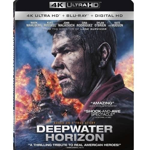 Deepwater Horizon (4K Ultra HD + Blu-ray + Digital HD) (Widescreen)