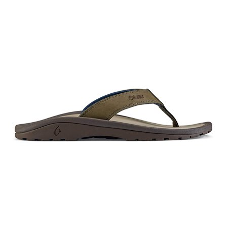 OluKai 10110-6Z10: Men's Ohana Husk/Clay Sandals ()