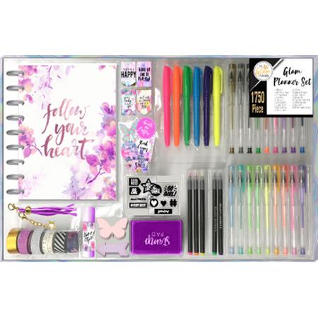 Glam Planner 1750pc Kit - Floral