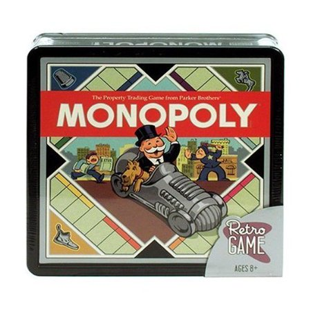 Monopoly by Retro Game, parker brothers By Parker (Monopoly Property Trading Game From Parker Brothers)