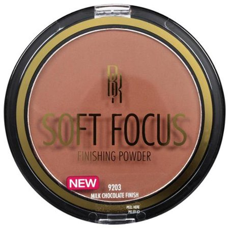 Black Radiance True Complexion Soft Focus Finishing Powder, Milk Chocolate [9203] 0.45 oz (Pack of 4)