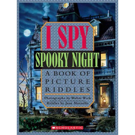 I Spy Spooky Night: A Book of Picture Riddles - Halloween I Spy Printables