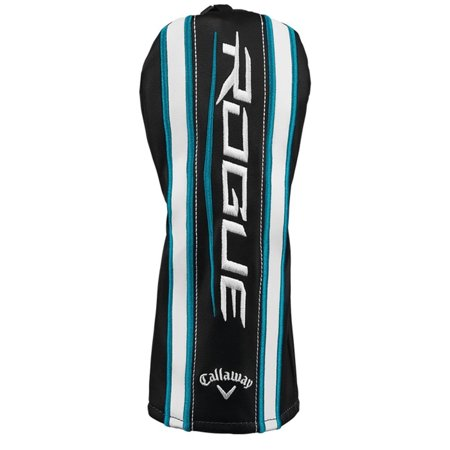 College Licensed Golf Headcover (NEW Callaway Golf Rogue Black/White/Blue Fairway Wood Headcover )
