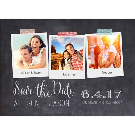 Polaroid Standard Save the Date