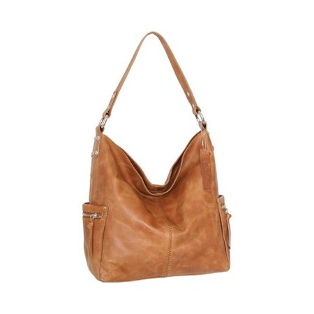 Women's Nino Bossi Cool Kyah Leather Hobo Handbag  11