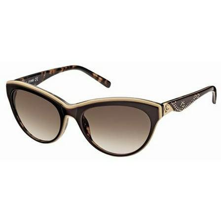 e448f7817b Just Cavalli Eyewear - Just Cavalli Women s JC409S Acetate Sunglasses BROWN  57 - Walmart.com