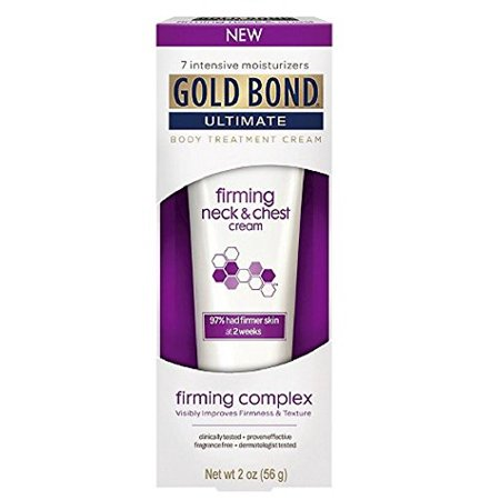8 Pack - Gold Bond Ultimate Firming Neck & Chest Cream 2 Oz
