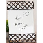 Home Essentials and Beyond Press Memo Wall Mounted Dry Erase Board
