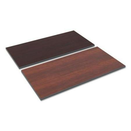 ALE Reversible Laminate Table Top, Medium Cherry & Mahogany - 48 x 24 in.