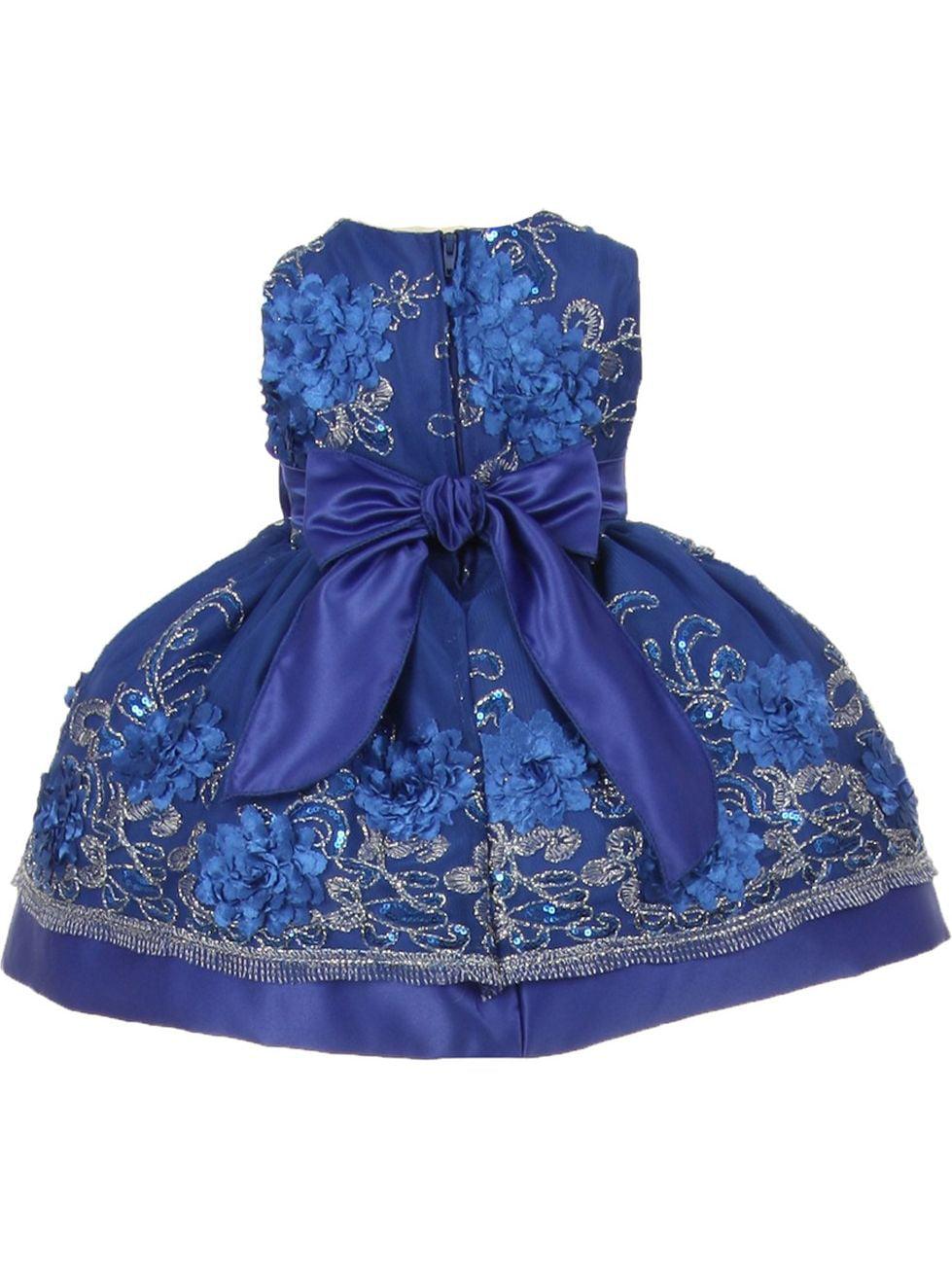 Royal Blue Girls Dresses