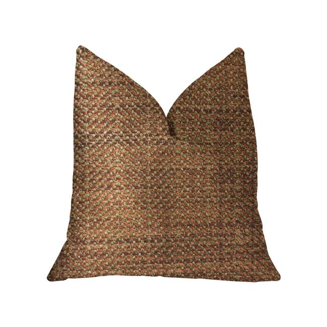 Merigold Luxury Double Sided Throw Pillow, Orange & Gold - Standard - image 1 de 1
