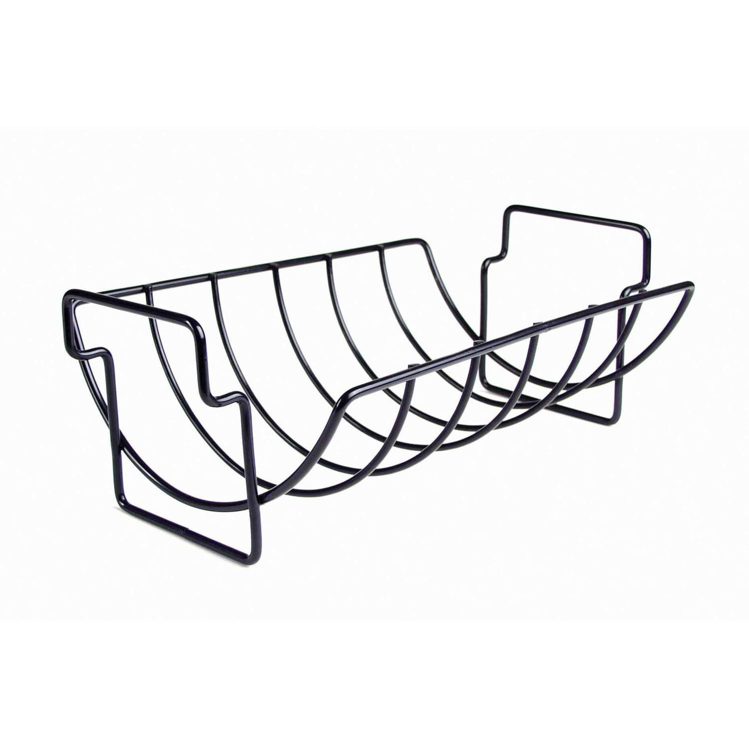 Charcoal Companion Non-Stick Reversible Roasting and Rib Rack