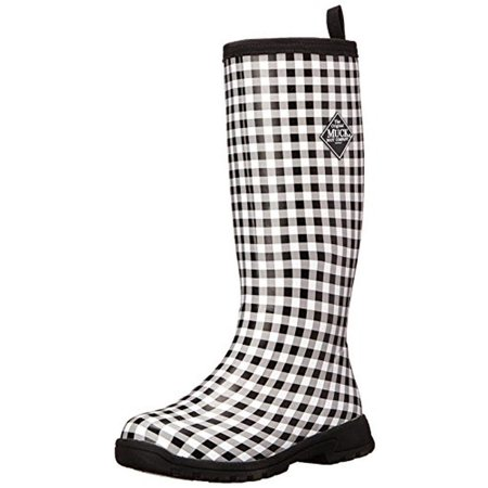 dc3ba49ce37 Muck Boot - Muck Boot Womens Breezy Tall Rubber Knee-High Rain Boots -  Walmart.com
